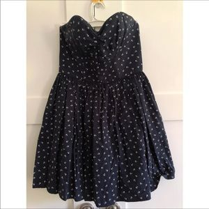 Jack wills anchor sweetheart dress